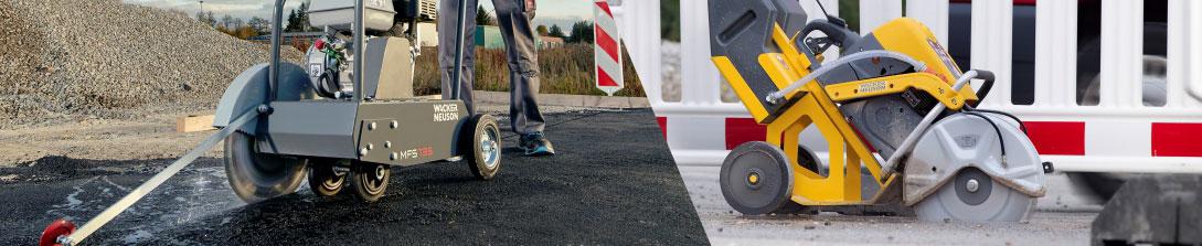 Masini de taiat asfalt si beton