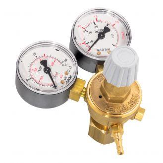 Regulator de presiune gaz CO2 cu 2 manometre pentru butelie reincarcabila Deca 010242