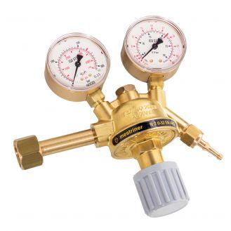 Regulator de presiune gaz CO2 cu 2 manometre pentru butelie reincarcabila Deca 010512