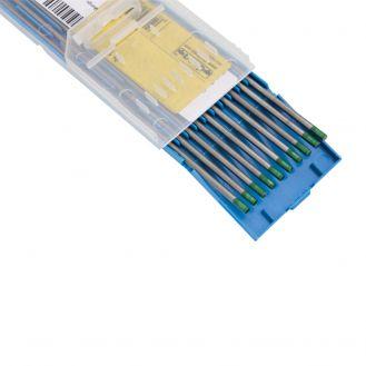 Electrozi nefuzibili torta TIG Deca 010697, puri, diametru 1.6 mm lungime 175 mm, 10 buc., curent alternativ, pentru sudura aluminiului