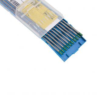 Electrozi nefuzibili torta TIG Deca 010699, puri, diametru 2.4 mm lungime 175 mm, 10 buc., curent alternativ, pentru sudura aluminiului