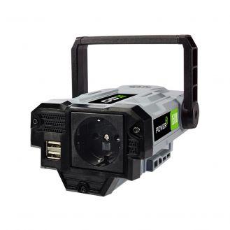 Convertor tensiune 56-230 V Ego PAD1500E, putere maxima 150 W