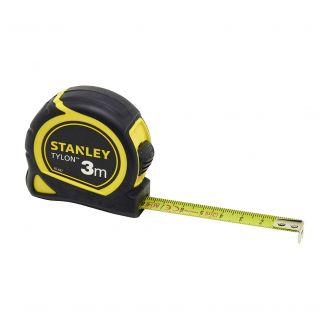 Ruleta Tylon Stanley 1-30-687, 3 m, inchisa, cu protectie de cauciuc, in sistem metric