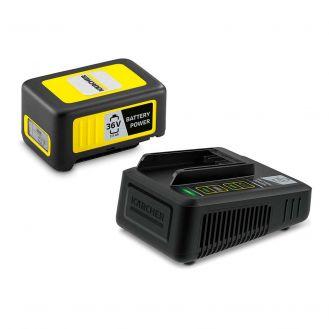 Starter kit Karcher Battery Power 36/25, 2.445-064.00, Li-Ion 36 V, 2.5 Ah, incarcator rapid