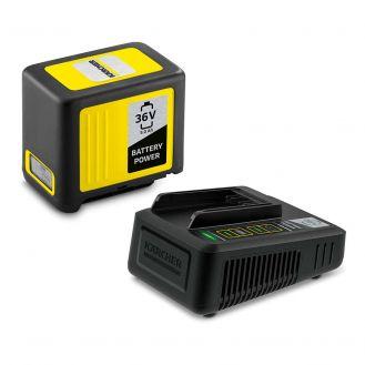Starter kit Karcher Battery Power 36/50, 2.445-065.0, Li-Ion 36 V, 5.0 Ah, incarcator rapid