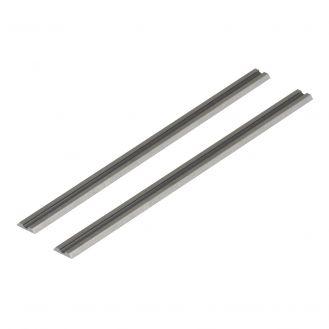 Set 2 cutite pentru rindea Wolfcraft 4113000, cu carburi metalice, dimensiuni 82x1.1x5.5 mm