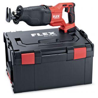 Fierastrau alternativ Flex RSP13-32, compatibil cu acumulator 18 V Li-Ion, 300 mm, taiere orbitala, cu viteza variabila