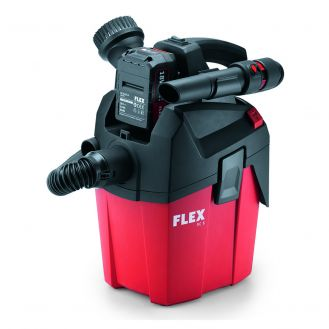 Aspirator Flex VC 6 L MC 18.0, compatibil cu acumulator Li-Ion 18 V, 6 l