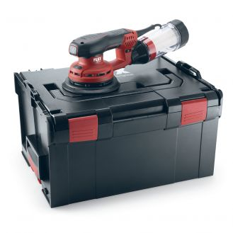 Masina de slefuit orbital Flex ORE 3-150 EC Set, 150 mm, 400 W, 6000-10000 rpm, L-BOXX
