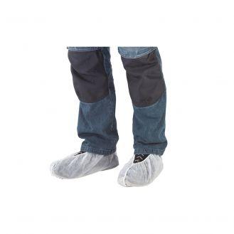 Set 2 papuci din folie pentru incaltaminte Wolfcraft 4877000, alb