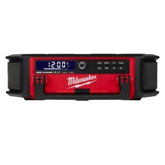 Radio incarcator Milwaukee M18 PRCDAB+-0, compatibil cu acumulatori 18 V si reteaua electrica de curent alternativ