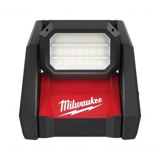 Proiector LED de inalta performanta Milwaukee M18 HOAL-0, compatibil cu acumulatori Li-Ion 18 V si reteaua de curent alternativ
