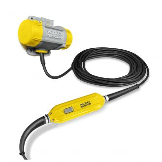 Vibrator extern de beton Wacker Neuson ARFU26/6/230, convertizor de frecventa integrat, tensiune de alimentare 230 V, 6000 rpm