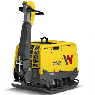 Placa compactoare reversibila Wacker Neuson DPU90Lec770, diesel, racire cu apa, greutate 771 kg, forta de impact 90 kN, pornire electrica, sistem Compatec