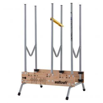 Capra Wolfcraft 5121000, pentru debitari sigure si rapide a lemnelor de 1 m
