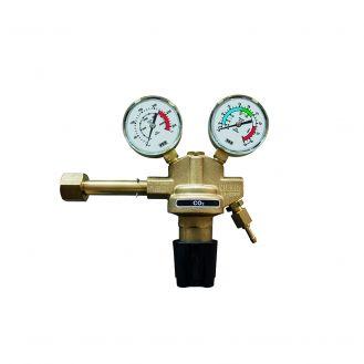 Regulator presiune gaz industrial cu doua manometre pentru butelie reincarcabila Telwin 722346