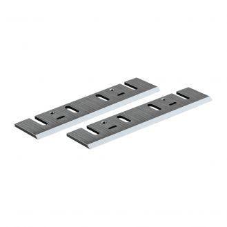 Set 2 cutite pentru rindea Makita 793013-5, reascutibile, cu carburi metalice, dimensiuni 155x32x3 mm