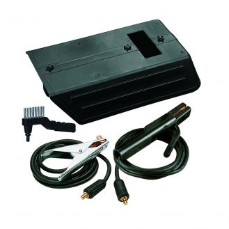 Kit pentru sudura MMA Telwin 801095, 350 A, conectori rapizi DX50, cabluri 4+3 m, sectiune 35 mm2