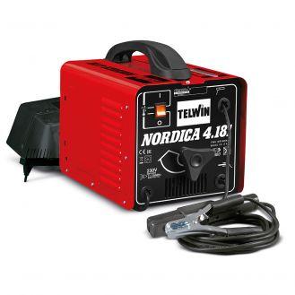 Aparat sudura  MMA Telwin NORDICA4.181TURBO, 160 A, electrozi 2-4  mm, cu accesorii