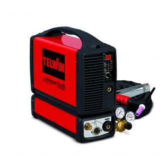 Aparat sudura TIG/ MMA Telwin TECHNOLOGYTIG182AC/DC-HF/LIFT_ACC, 160 A, electrozi 1.6-3.2  mm, cu accesorii TIG