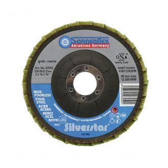Disc lamelar Sonnenflex 97052_1, granulatie 100G, 125x18X22.23 mm