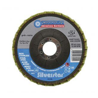 Disc lamelar Sonnenflex 97054_5, granulatie 240F, 125x18X22.23 mm