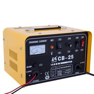 Redresor baterii Tehnoweld CB-25, tensiune incarcare 12/24 V, capacitate baterii cu capacitate baterii Pb 25-150 Ah