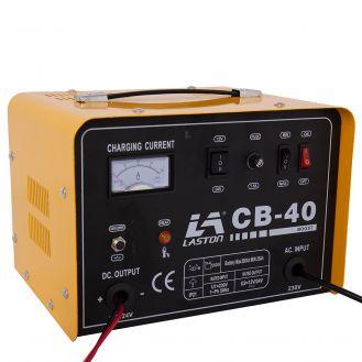 Redresor baterii Tehnoweld CB-40, tensiune incarcare 12/24 V, capacitate baterii Pb 35-300 Ah