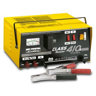 Redresor baterii si robot de pornire Deca CLASSBOOSTER410A, tensiune incarcare 12/24 V, capacitate baterii Pb/AGM 15-500 Ah
