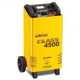 Redresor baterii si robot de pornire Deca CLASSBOOSTER4500, tensiune incarcare 12/24 V, capacitate baterii Pb/AGM 35-600 Ah