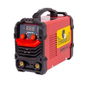 Invertor sudura  MMA Tehnoweld COMPACT-145T, 140 A, electrozi 1.6-3.2  mm, cu accesorii