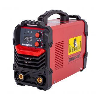 Invertor sudura  MMA Tehnoweld COMPACT-185T, 180 A, electrozi 1.6-4  mm, cu accesorii