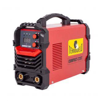 Invertor sudura  MMA Tehnoweld COMPACT-220T, 200 A, electrozi 1.6-4  mm, cu accesorii
