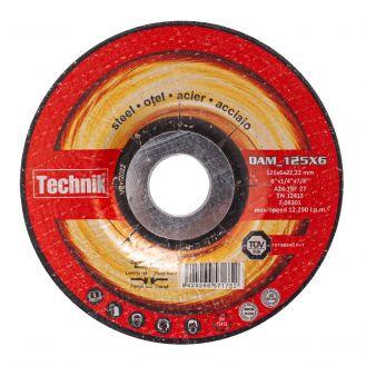 Disc abraziv pentru polizat metal Technik DAM_125X6