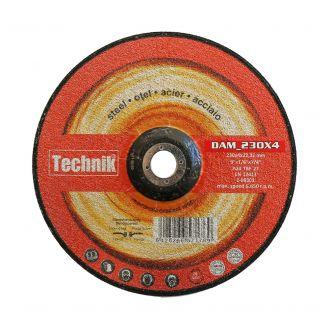 Disc abraziv pentru polizat metal Technik DAM_230x4