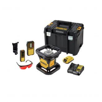Nivela laser rotativa DeWalt DCK374D1RG, laser rosu