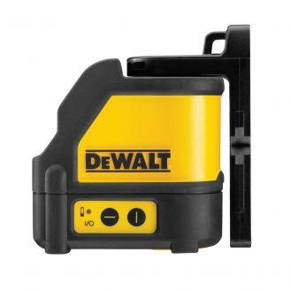 Set nivela laser cu linii Dewalt DW088KD, 10 m, detector