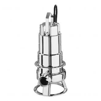 Pompa submersibila inox pentru ape murdare Ebara DW200, debit 42000 l/h, 400 V, inaltime refulare 16.6 m, particule max 50 mm