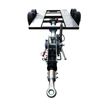 Remorca pentru generator Zenessis EGR3500FR, masa totala autorizata 3500 kg, protap reglabil, cu franare