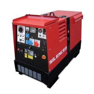 Generator de curent si sudura Zenessis ESE 300 KSX-EL, trifazat, 10 kVA, curent sudura 20-300 A, pornire electrica, carcasa insonorizata