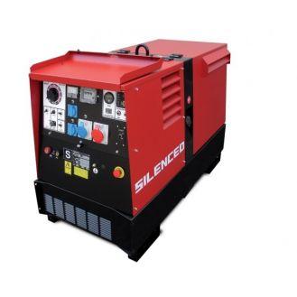 Generator de curent si sudura Zenessis ESE 400 KSX-EL, trifazat, 13 kVA, curent sudura 20-400 A, pornire electrica, carcasa insonorizata