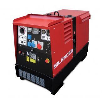 Generator de curent si sudura Zenessis ESE 400 PS-BC, trifazat, 16 kVA, curent sudura 20-400 A, pornire electrica, carcasa insonorizata