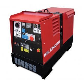 Generator de curent si sudura Zenessis ESE 600 PS-BC, trifazat, 40 kVA, curent sudura 20-600 A, pornire electrica, carcasa insonorizata