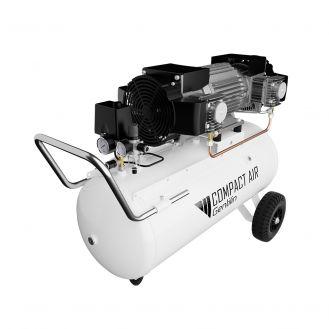 Compresor de aer fara ulei Gentilin, ESK480/100, 90 l, 3.1 KW, 10 bar, 480 l/min