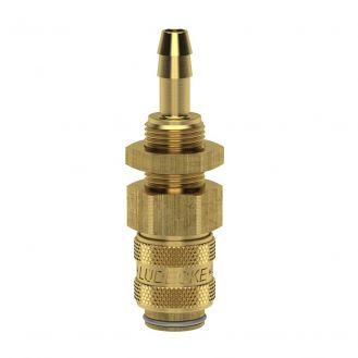 Cupla rapida mini mama Ludecke ESM_9_TSV, DN 5, 9 mm, M12x1