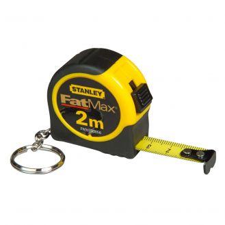 Ruleta breloc FatMax Stanley FMHT1-33856, 2 m, inchisa, in sistem metric