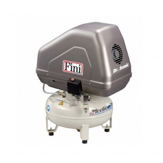 Compresor de aer medical Fini Dr.Sonic 102-24V-FM-0,75M, 24 l, 0.55 kW, 8 bar, 55 l/min, uscator cu o singura coloana
