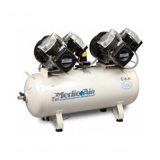 Compresor de aer de uz medical Fini Medic Air Med 640-90F-6T, 400 V, 470 l/min, 8 bar, butelie 90 l
