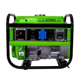 Generator de curent pe benzina Greenfield G-EC1500_C, portabil, monofazat, 1.1 kVA