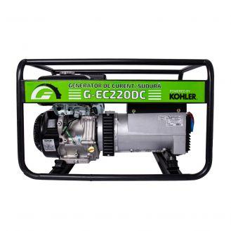 Generator portabil de curent si sudura Greenfield G-EC220DC, trifazat, 6.1 kVA, curent sudura 40-220 A